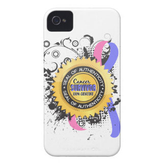Cancer Survivor 23 Male Breast Cancer Case-Mate iPhone 4 Case