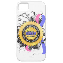 Cancer Survivor 23 Male Breast Cancer iPhone SE/5/5s Case
