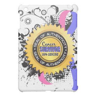 Cancer Survivor 23 Male Breast Cancer iPad Mini Cover