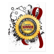 Cancer Survivor 23 Multiple Myeloma Postcard