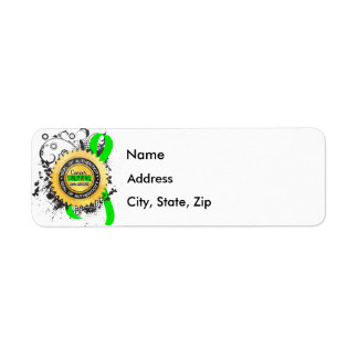 Cancer Survivor 23 Non-Hodgkin's Lymphoma Return Address Label