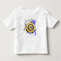 Cancer Survivor 23 Prostate Cancer Toddler T-shirt