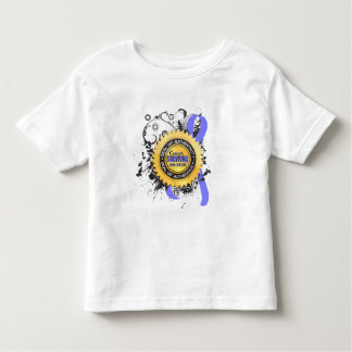 Cancer Survivor 23 Prostate Cancer Toddler T-shirt