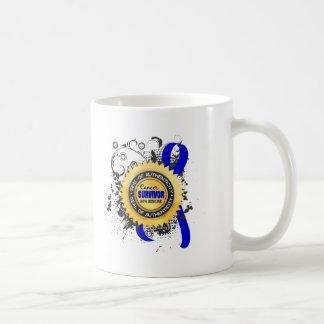 Cancer Survivor 23 Rectal Cancer Classic White Coffee Mug