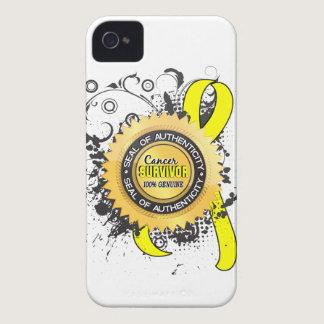 Cancer Survivor 23 Testicular Cancer Case-Mate iPhone 4 Case