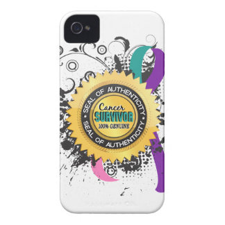 Cancer Survivor 23 Thyroid Cancer iPhone 4 Cover