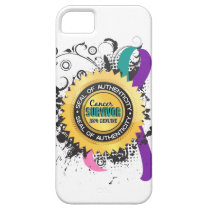 Cancer Survivor 23 Thyroid Cancer iPhone SE/5/5s Case