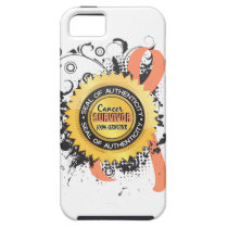 Cancer Survivor 23 Uterine Cancer iPhone SE/5/5s Case