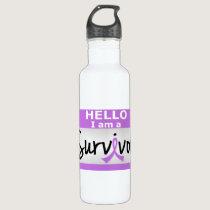 Cancer Survivor 24.png Water Bottle