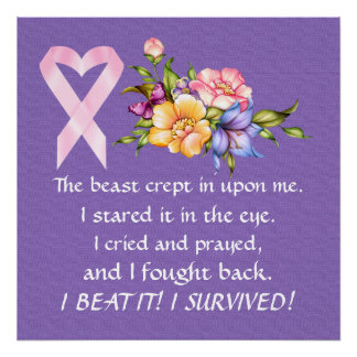 Cancer Survivor - Awareness Poster - SRF
