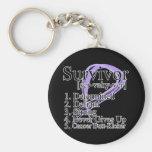 Cancer Survivor Definition Key Chains