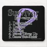 Cancer Survivor Definition Mouse Pad