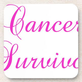 Cancer Survivor Drink Coaster