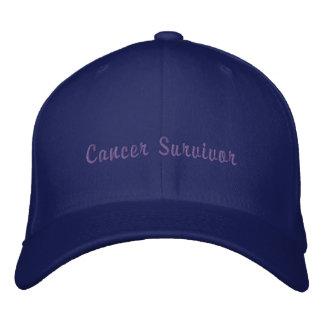 Cancer Survivor Embroidered Hat