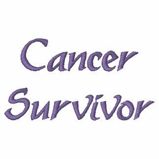 Cancer Survivor Embroidered Polo Shirt