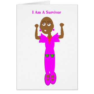 Cancer Survivor Greeting Card. Card