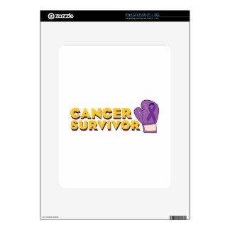 Cancer Survivor iPad Decal