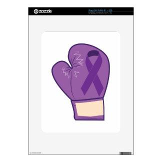 Cancer Survivor iPad Decals