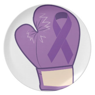 Cancer Survivor Melamine Plate