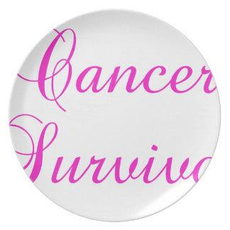 Cancer Survivor Plate
