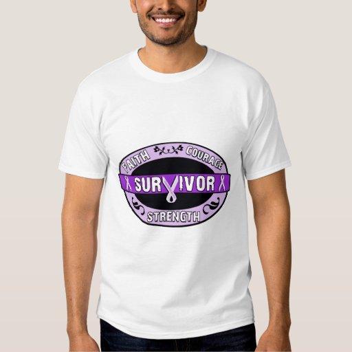 Cancer Survivor Purple T-Shirt