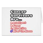 Cancer Survivor Quiz Card