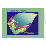 Cancer Survivor - Rest & Recovery Greeting Card