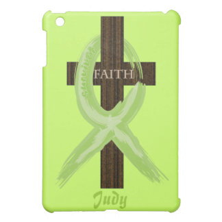 Cancer Survivor Ribbon on a Cross Case For The iPad Mini