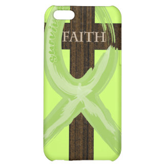 Cancer Survivor Ribbon on a Cross iPhone 5C Cover