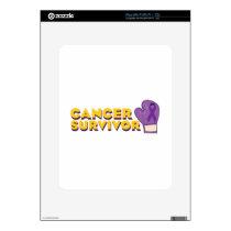 Cancer Survivor Skin For iPad