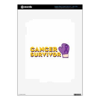 Cancer Survivor Skin For iPad 3