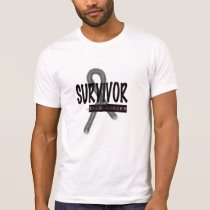 Cancer Survivor, Skin Mens T-Shirt