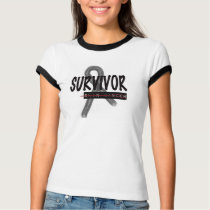 Cancer Survivor, Skin Woman T-Shirt