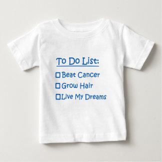 Cancer Survivor To Do List Baby T-Shirt