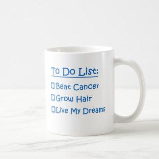 Cancer Survivor To Do List Classic White Coffee Mug
