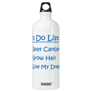 Cancer Survivor To Do List SIGG Traveler 1.0L Water Bottle