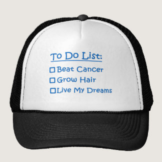 Cancer Survivor To Do List Trucker Hat