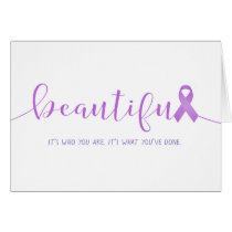 Cancer Survivor You are Beautiful Card
