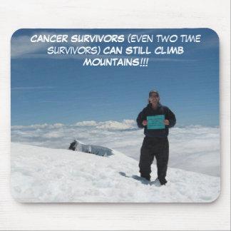 Cancer Survivors Can Still Climb Mountains mousepa Mouse Pad