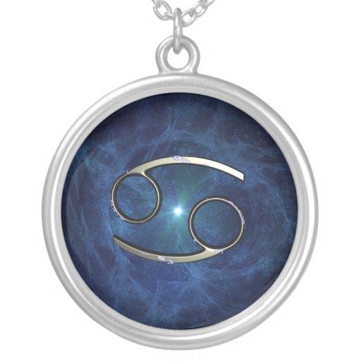 Cancer symbol custom necklace