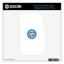 CANCER SYMBOL iPod TOUCH 4G DECAL