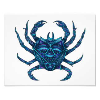 Cancer Symbol Photo Print
