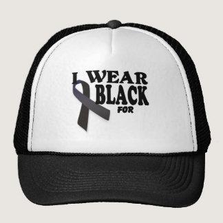 Cancer T Shirt I wear Black for Template Trucker Hat