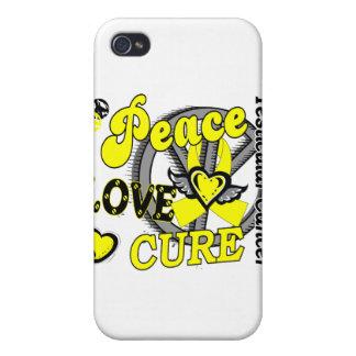 Cáncer testicular de la curación 2 del amor de la  iPhone 4 funda