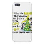 Cáncer testicular de los pingüinos del navidad iPhone 5 protector