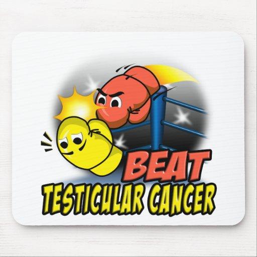 Cáncer testicular del golpe alfombrillas de ratones