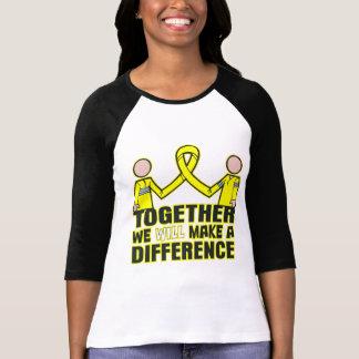 Cáncer testicular juntos haremos un Differen Camiseta