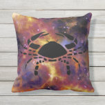Cancer The Crab Outdoor Pillow