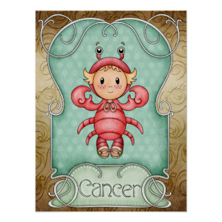 Cancer the Crab - SRF Poster