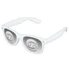 Cancer - The Crab Zodiac Sign Retro Sunglasses